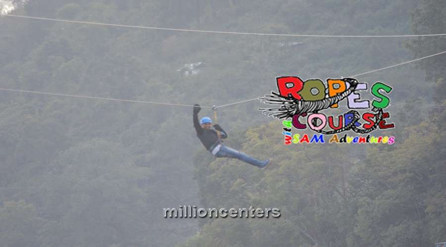 Zip Line & Rope Course Manufacture-1