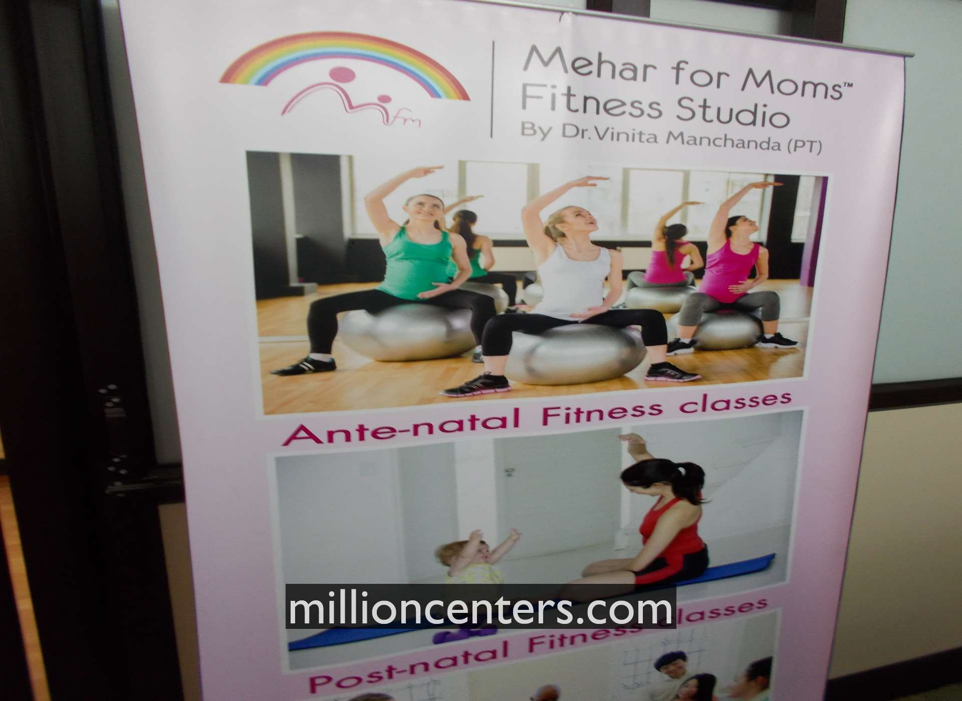 Mehar for Moms Fitness Studio