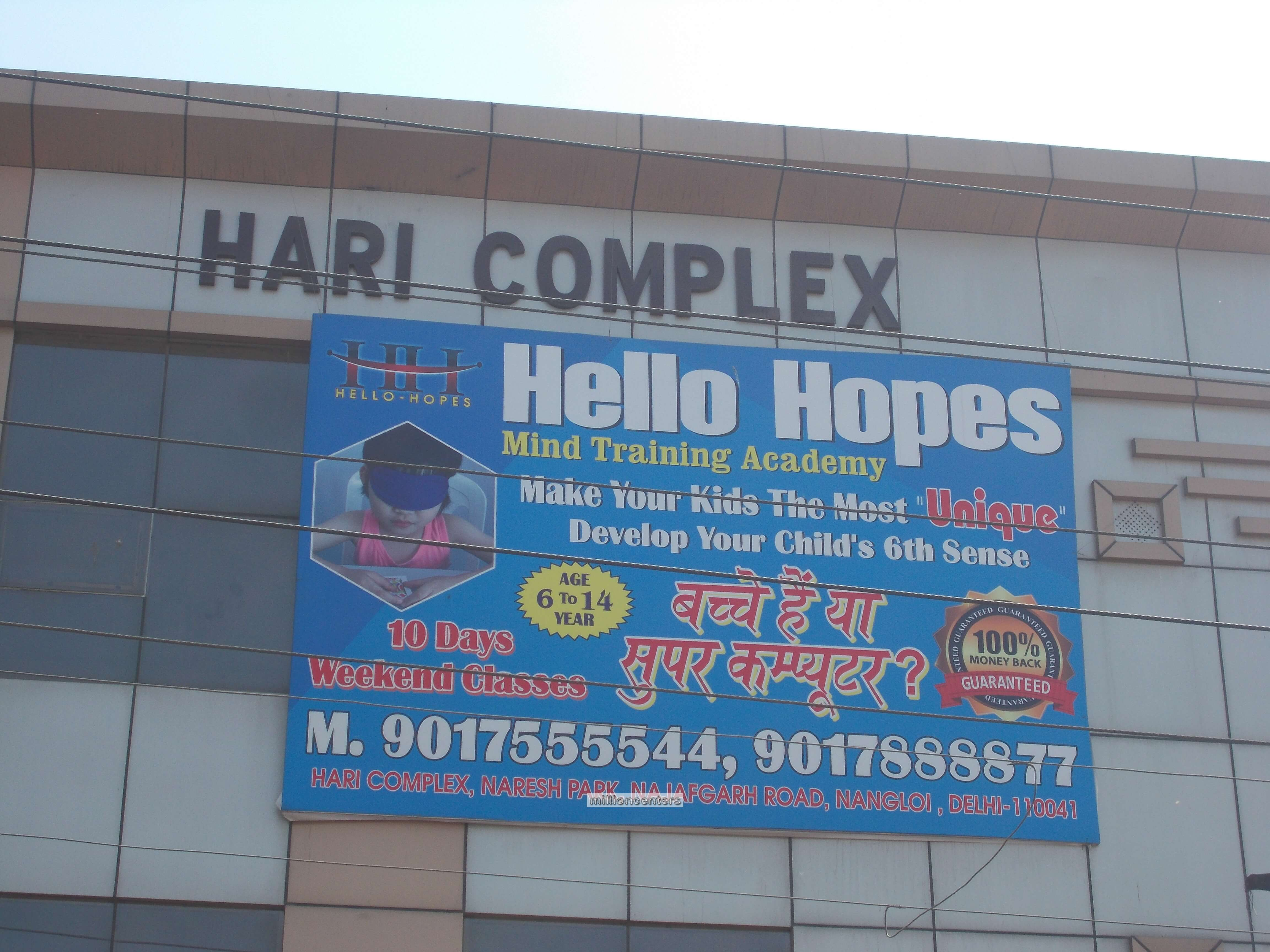 Hello Hopes Mind Training Academy in Nangloi